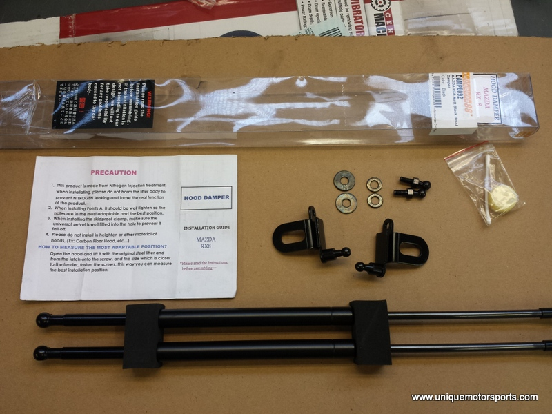 Hood Damper Kit