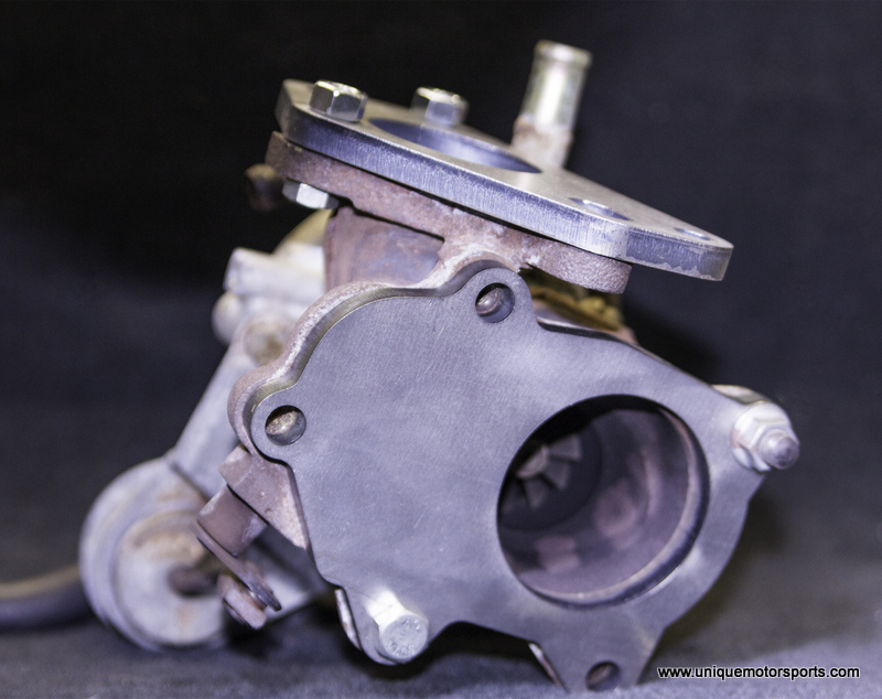 Turbo Inlet and Exhaust Flanges – Unique Motorsports